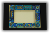 Blue frame: